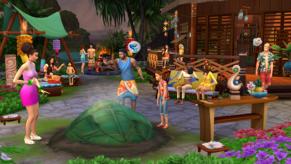 El verano llega con la expansión Los Sims 4 Vida Isleña
