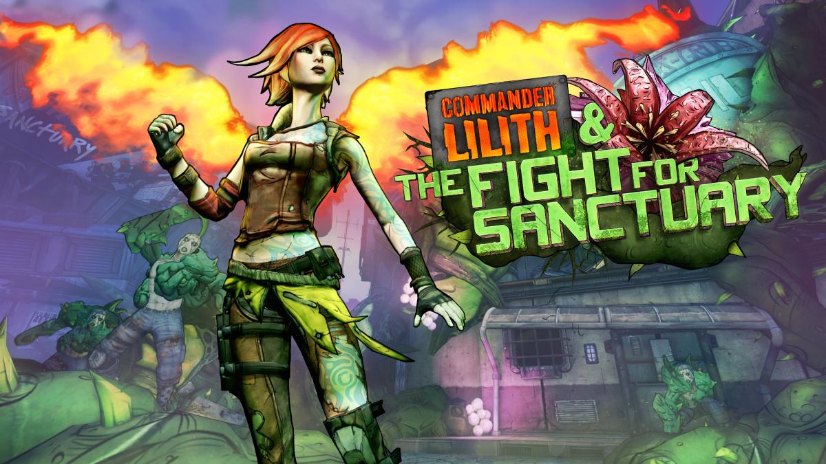 Llega a Borderlands2 el dlc de La comandante Lilith y la lucha por Sanctuary