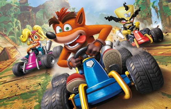 Llega el Gran Premio de Gasmoxia a Crash Team Racing
