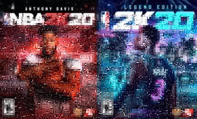 Davis y Wade serán  las icónicas estrellas de portada de NBA 2K20