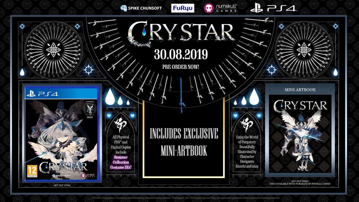 Crystar anuncia su fecha de lanzamiento