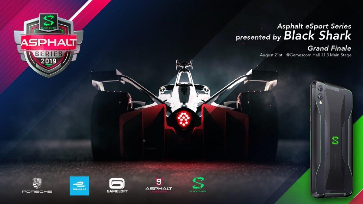Los finalistas de la 'Asphalt eSports Series presented by Black Shark' competirán con la Mejor Estación de Juego Portátil