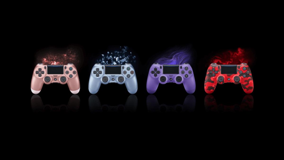 La familia DUALSHOCK®4 aumenta con cuatro coloridos mandos