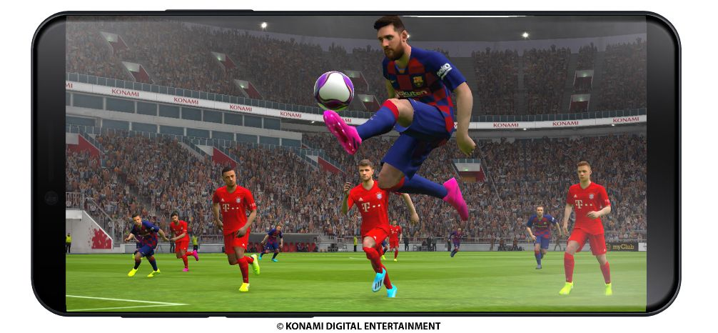 Konami anuncia la versión para móvil de eFootball PES 2020