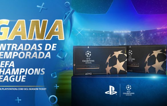 PlayStation regala dos abonos de temporada para la Champions League