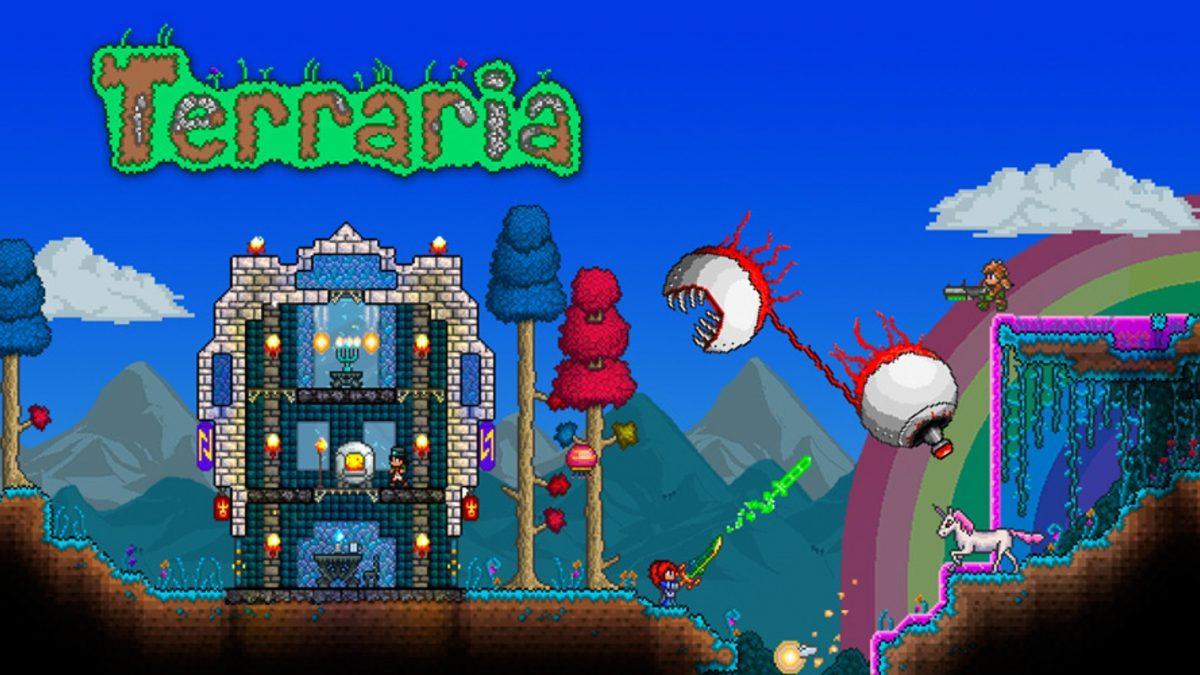 Aventura, supervivencia y construcción: Terraria llega a Nintendo Switch