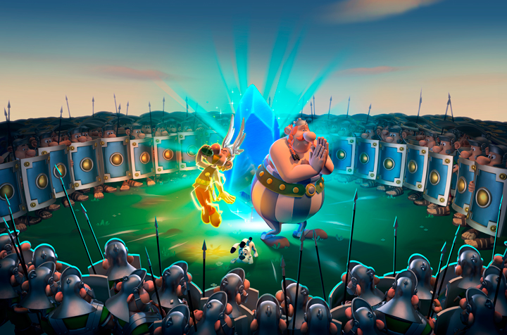 Astérix y Obélix XXL3: El Menhir de Cristal llegará el 21 de noviembre