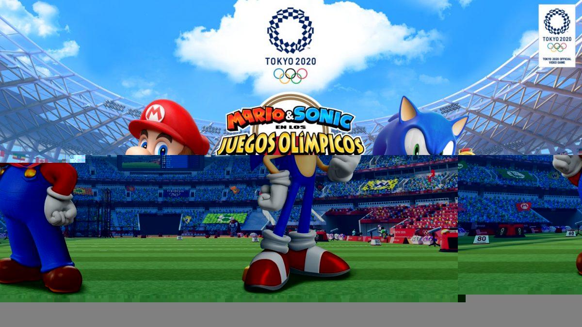 Entra en la caótica diversión de Mario & Sonic en los Juegos Olímpicos