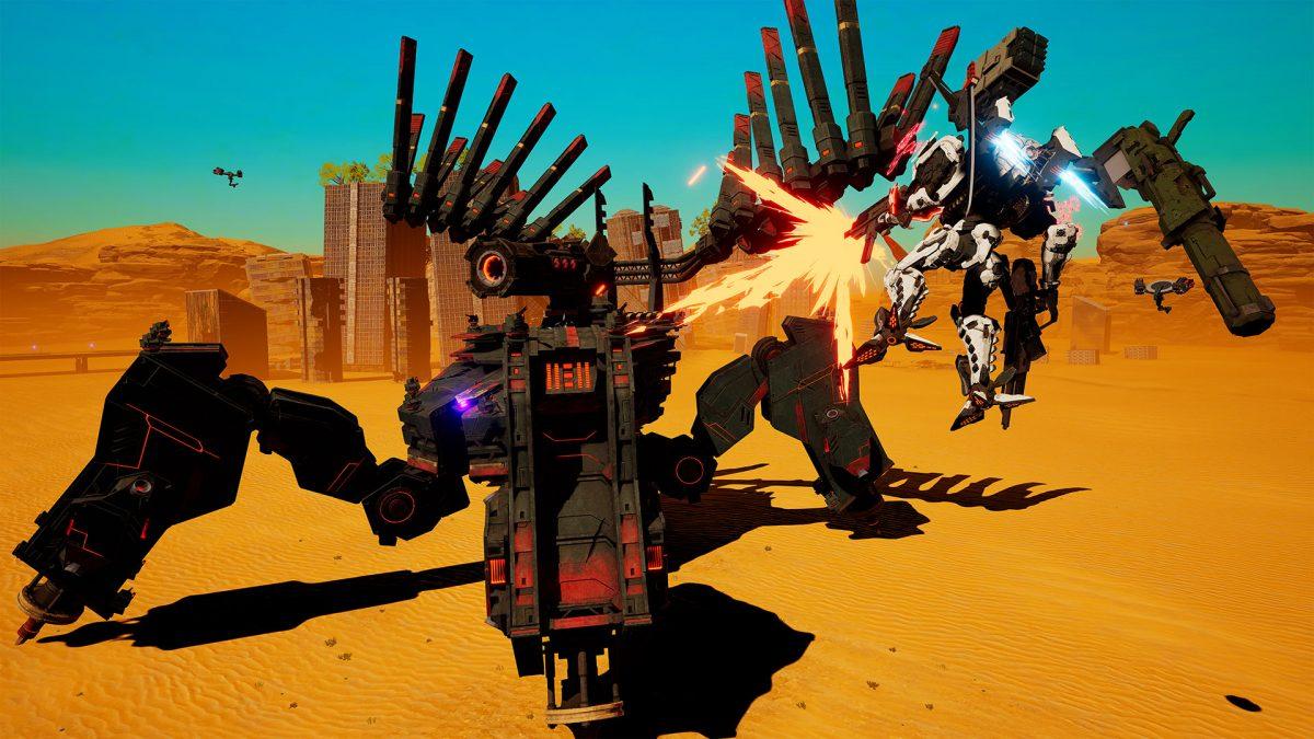 Arma a tu robot para salvar el mundo en DAEMON X MACHINA
