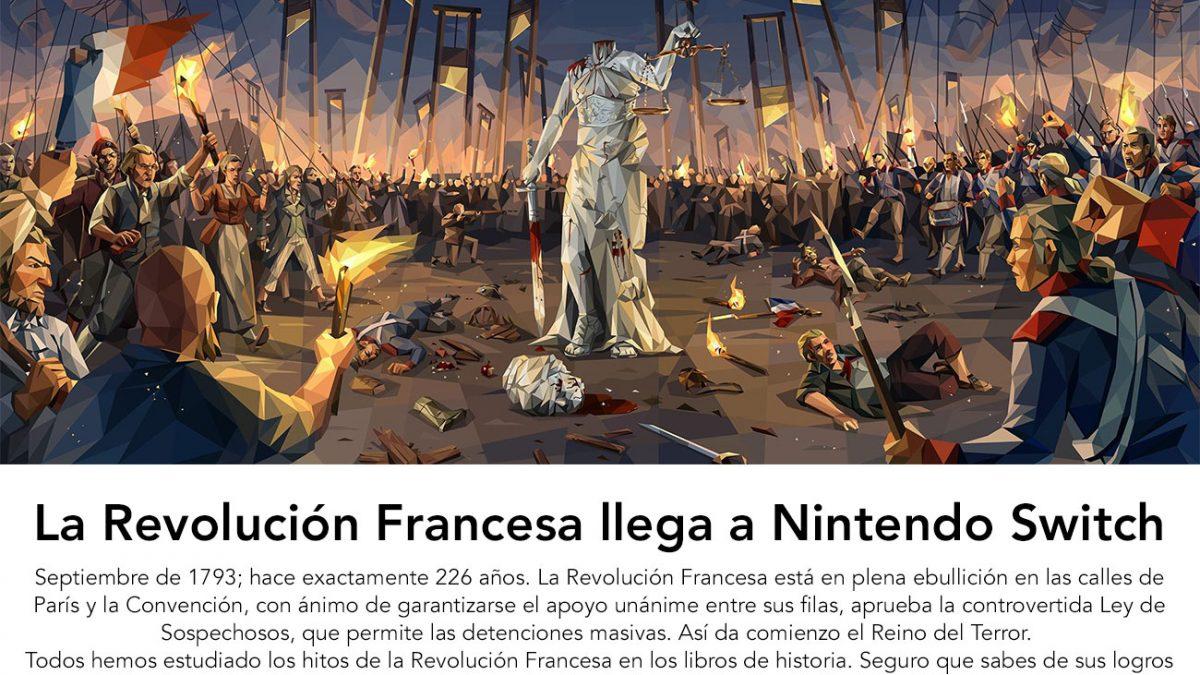 «We: The Revolution» – La Revolución Francesa llega a Nintendo Switch