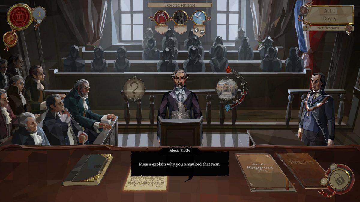 Ponte en la piel de un juez de la Revolución Francesa en 'We. The Revolution'