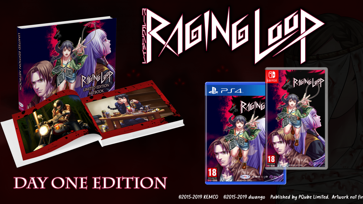 Raging Loop llega en formato físico para Playstation 4 y Nintendo Switch