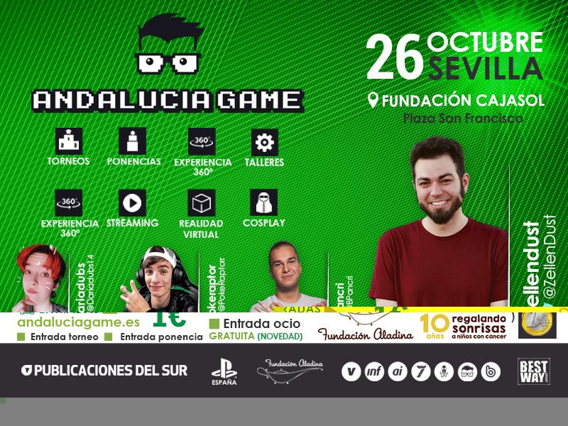 Este sábado es la gran cita del videojuego: Andalucía Game 2019