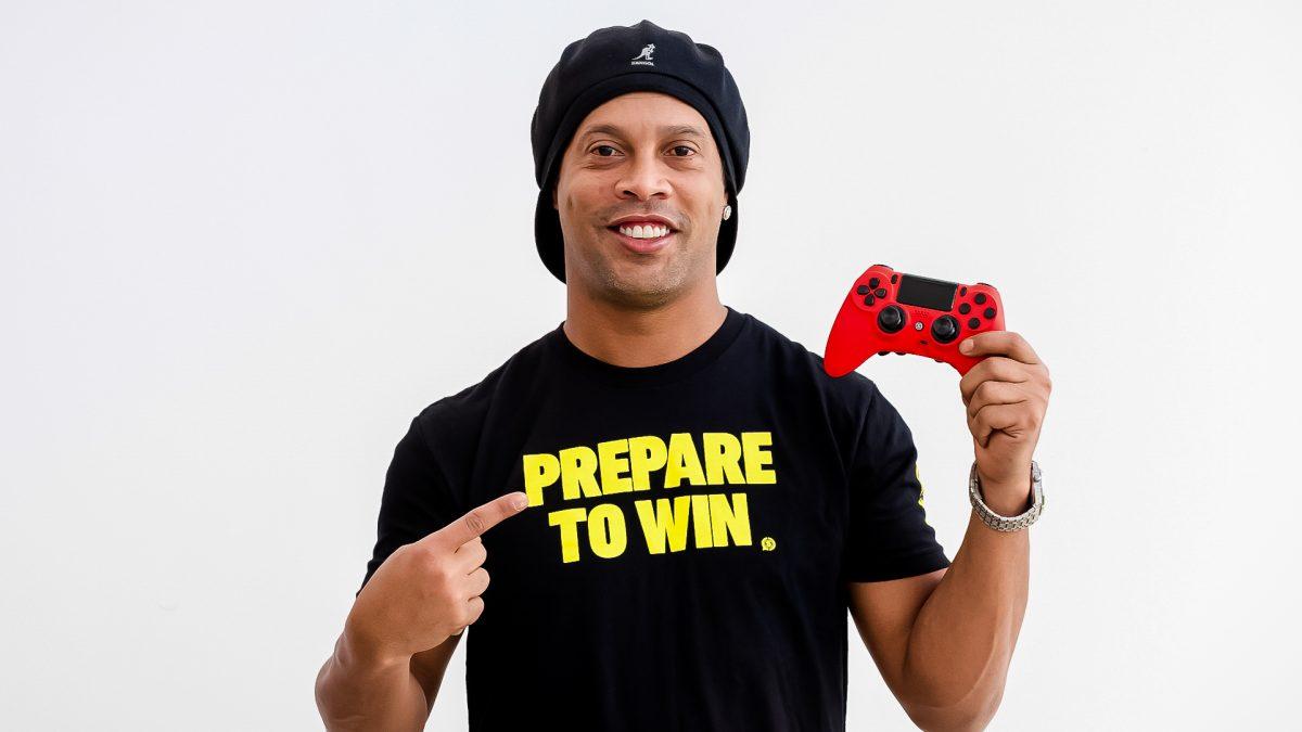 Ronaldinho lanza un equipo de eSports con Scuf Gaming