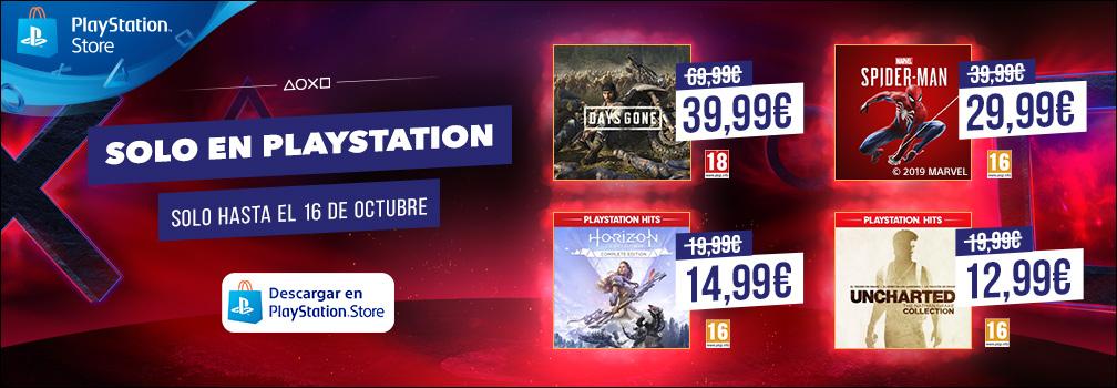 Arranca la promoción «Solo en PlayStation», con importantes descuentos