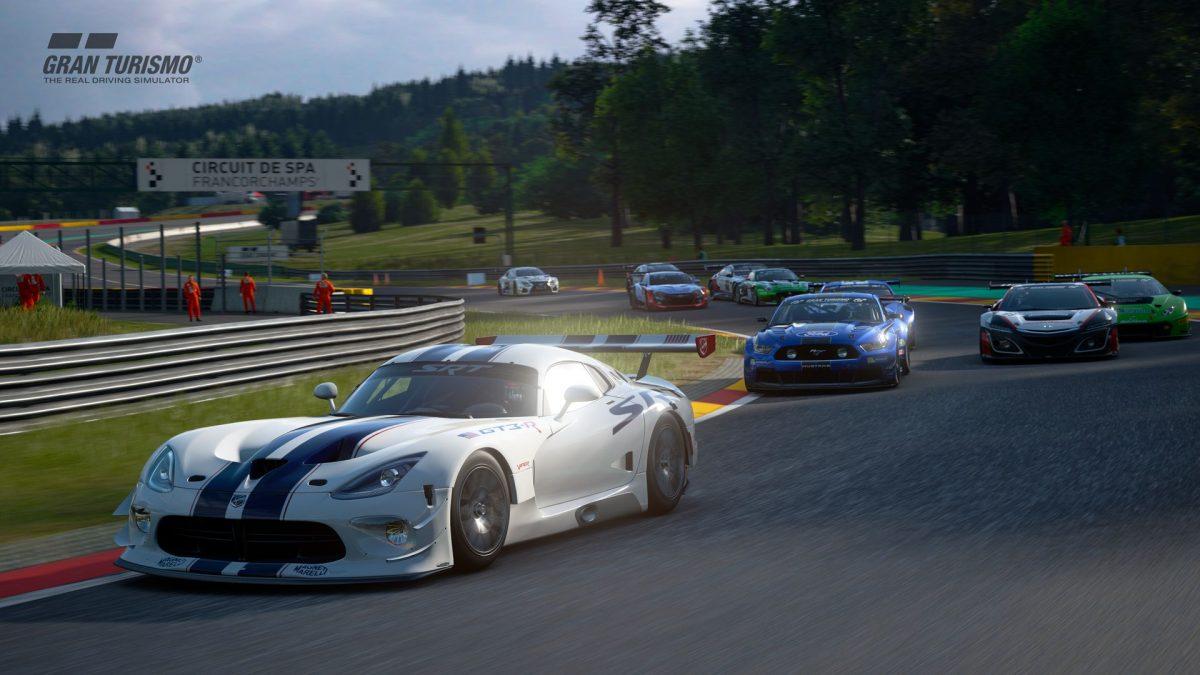 La actualización de Gran Turismo Sport incluye el circuito de Spa