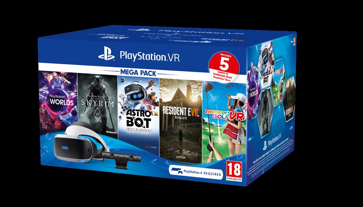 PlayStation anuncia un nuevo Mega Pack de PlayStation VR con 5 grandes videojuegos