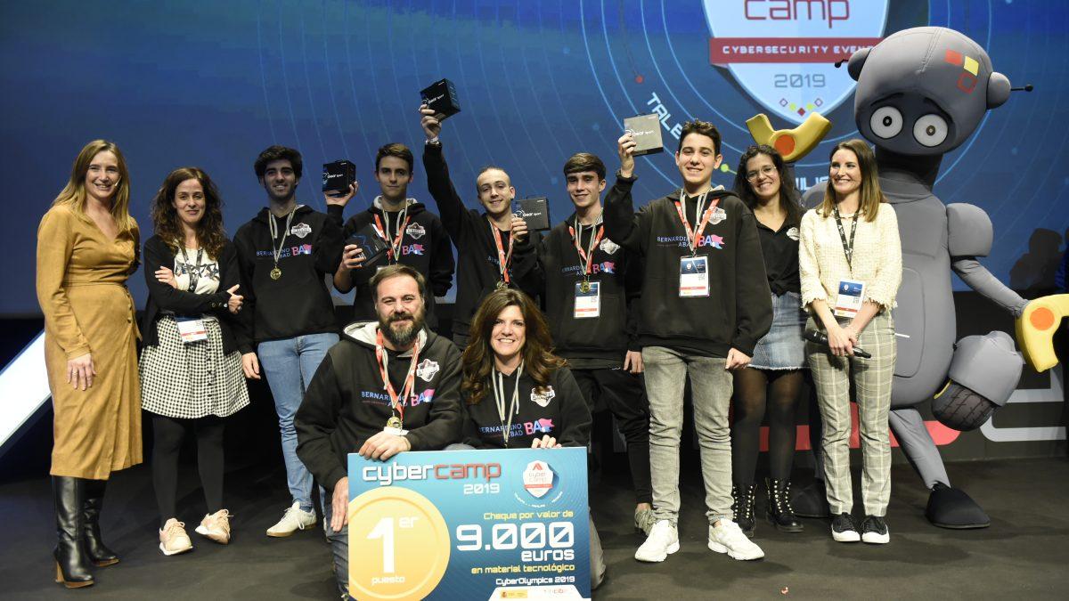 El IES Rafael Alberti de Cádiz vuelve a ganar las Olimpiadas de Ciberseguridad