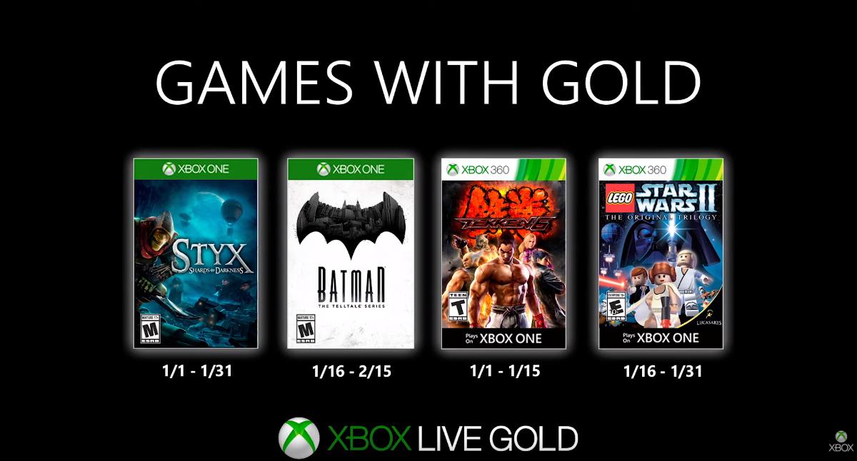 2020 se estrenará con superhéroes, lucha y buen humor: estos son los Games with Gold de enero