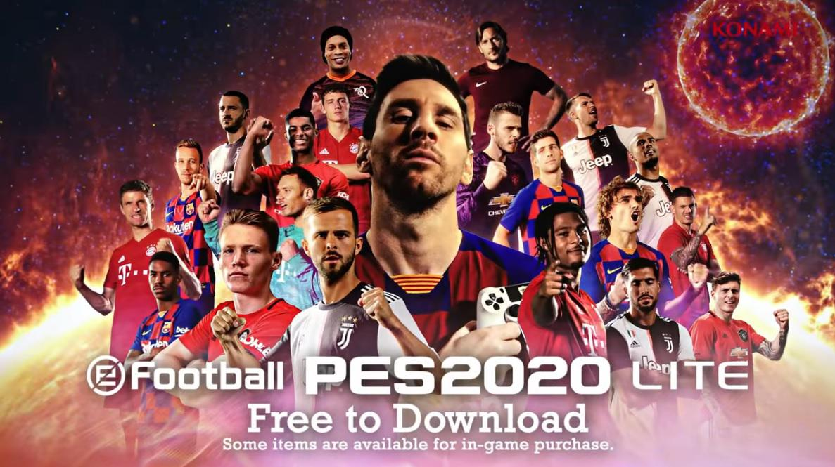 Llega eFootball PES 2020 LITE: el modo gratuito ya disponible