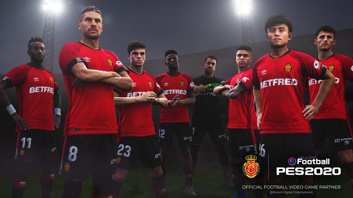 El RCD Mallorca se une a la lista de clubes partner de eFootball PES 2020