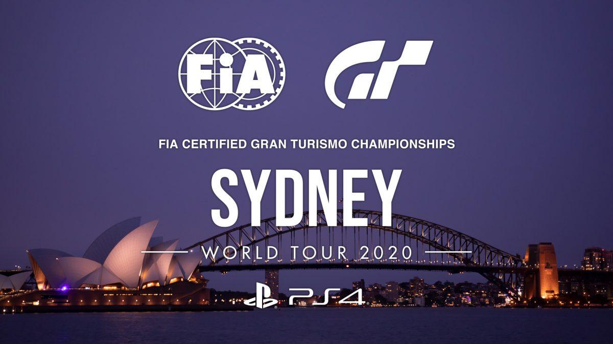 Los FIA Certified Gran Turismo Championships 2020 arrancan en Sidney