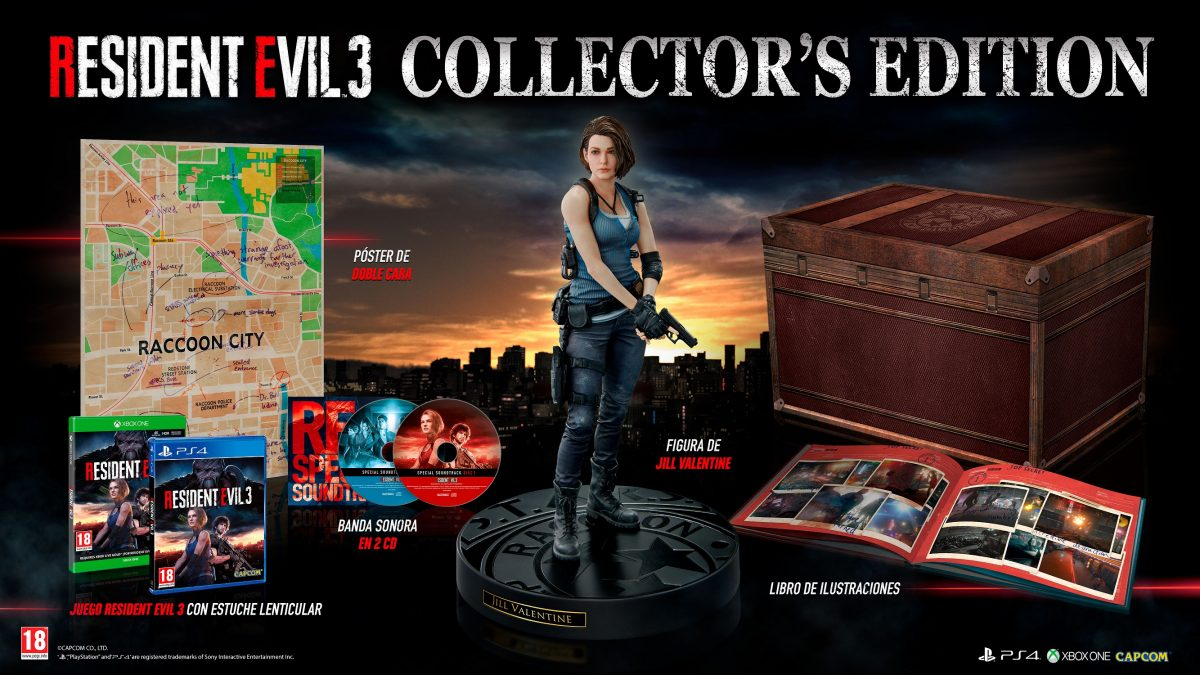 Disponible en Europa la campaña de reserva anticipada de Resident Evil™ 3