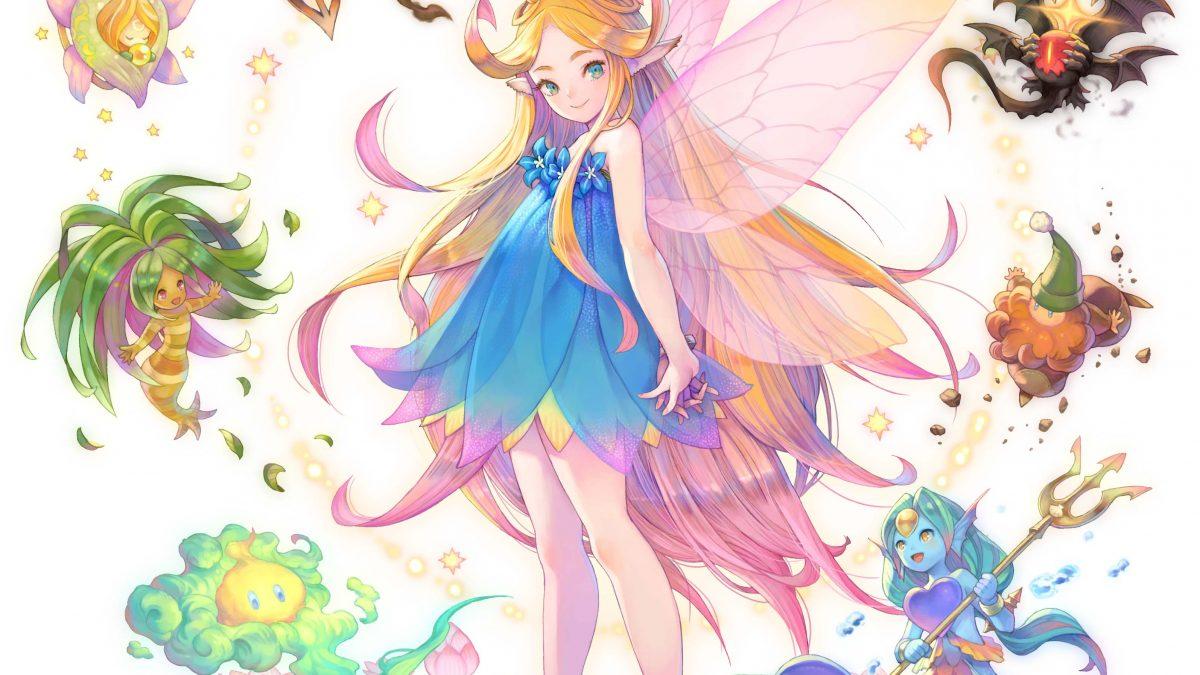 Charlotte y Kevin personajes protagonistas del nuevo tráiler de Trials of Mana