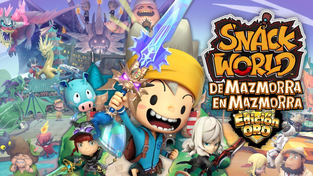 Snack World: De mazmorra en mazmorra – Edición Oro llega a Nintendo Switch