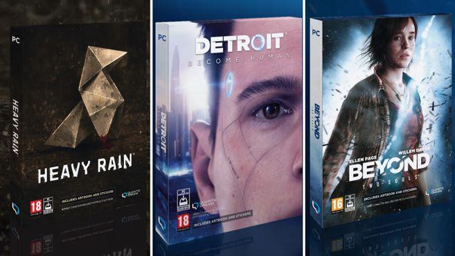 Descubre el contenido de las ediciones especiales de Quantic Dream para PC