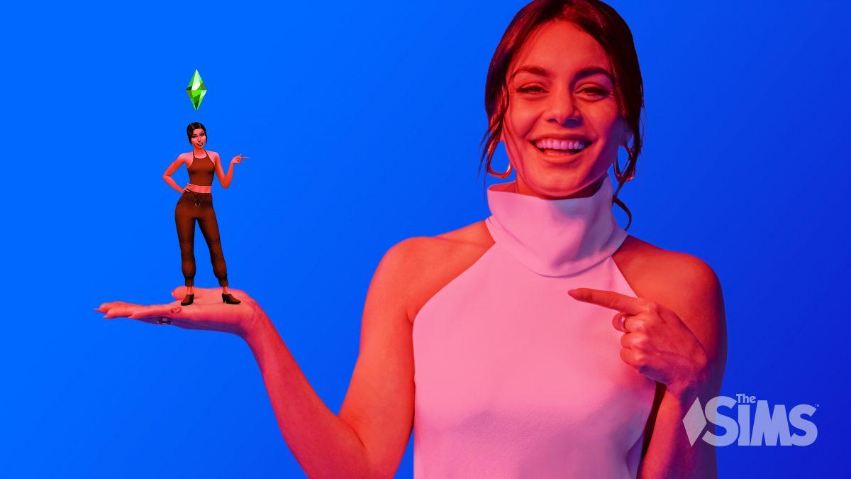 Vanessa Hudgens y Los Sims 4 celebran 20 años jugando a la vida