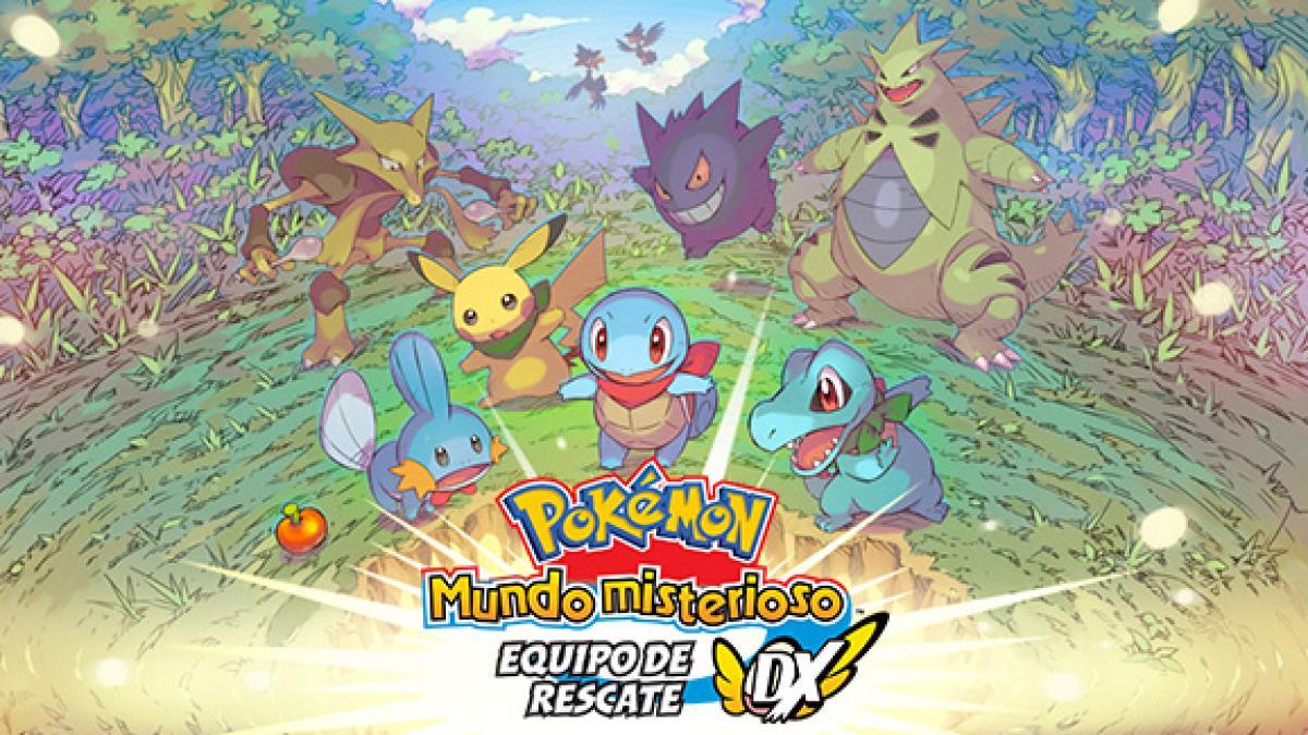 Pokémon Mundo misterioso: equipo de rescate DX llega a Switch