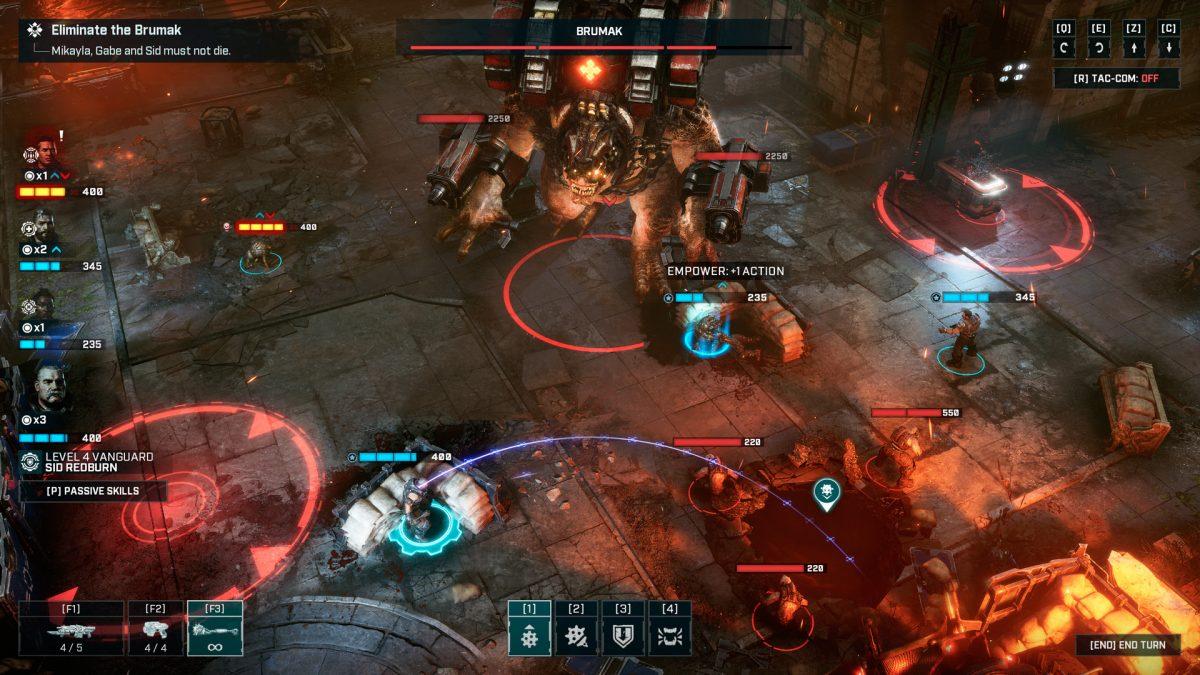 Llega el tráiler de lanzamiento de Gears Tactics