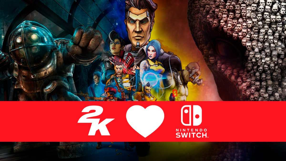BioShock, XCOM 2 y Borderlands aterrizan en Nintendo Switch