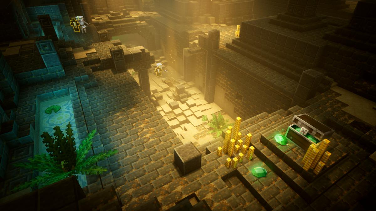 ¡Ya disponible Minecraft Dungeons!