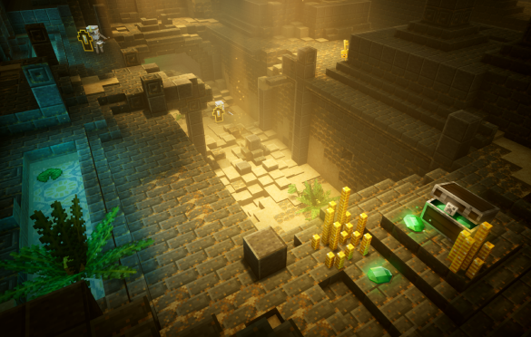 ¡Ya disponible Minecraft Dungeons!