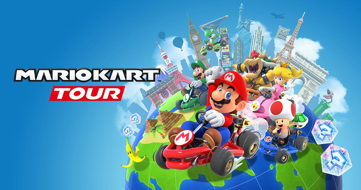 Las carreras por equipo llegan a Mario Kart Tour