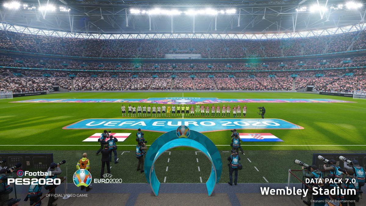 KONAMI lanza el Data Pack 7.0 con el contenido de la UEFA EURO 2020