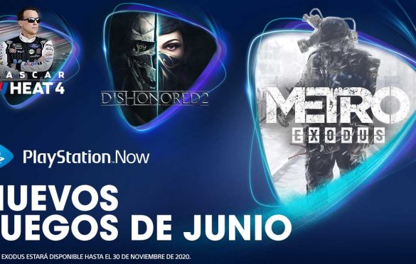 Metro Exodus, Dishonored 2 y NASCAR Heat 4 entre las novedades de junio para PlayStation Now