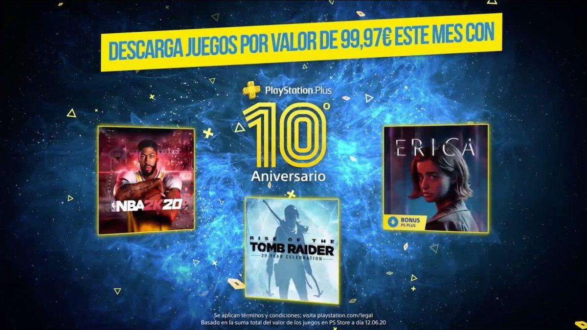 PlayStation Plus celebra su 10º aniversario