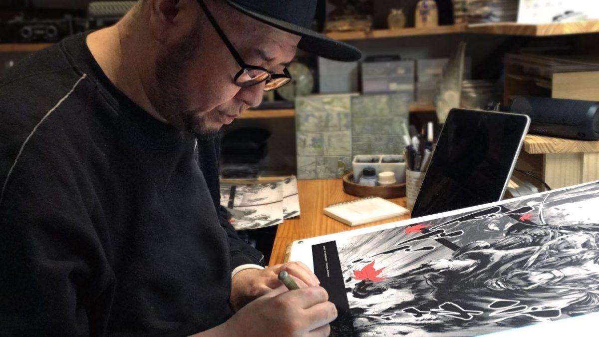 Ghost of Tsushima presenta una serie especial de posters realizada por Takashi Okazaki