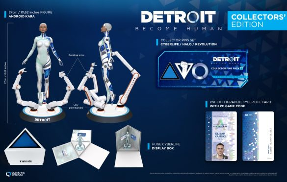Become Human Collector's Edition para PC ya está disponible