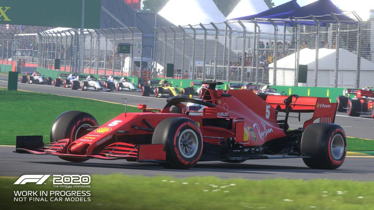 El espectacular F12020 acelera para llegar a consolas y pc
