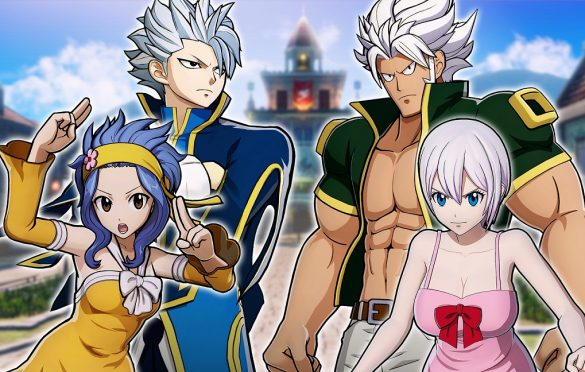 FAIRY TAIL ya disponible para PS4, Switch y PC (Steam)
