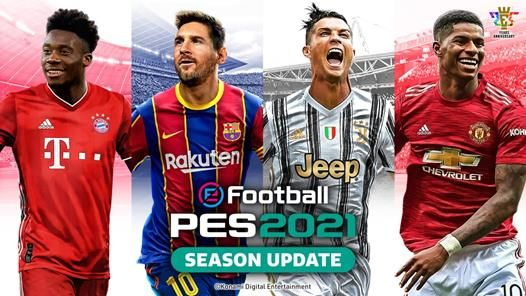 Revelada la portada de eFootball PES 2021
