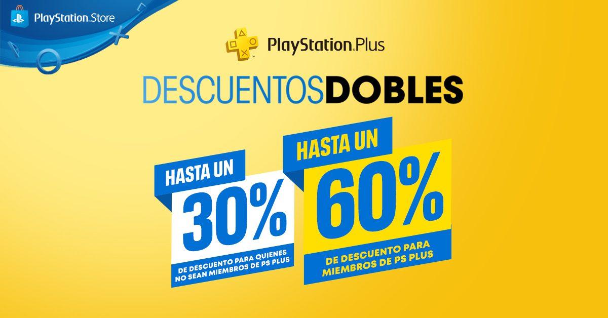 Llegan los Descuentos Dobles a PlayStation Store para los suscriptores de Plus