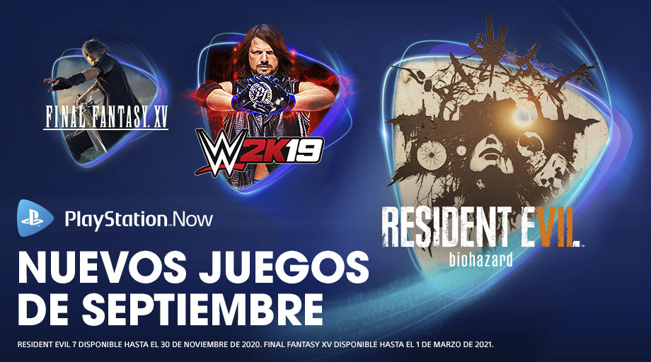 Resident Evil 7, Final Fantasy XV y Observation llegan a PlayStation Now