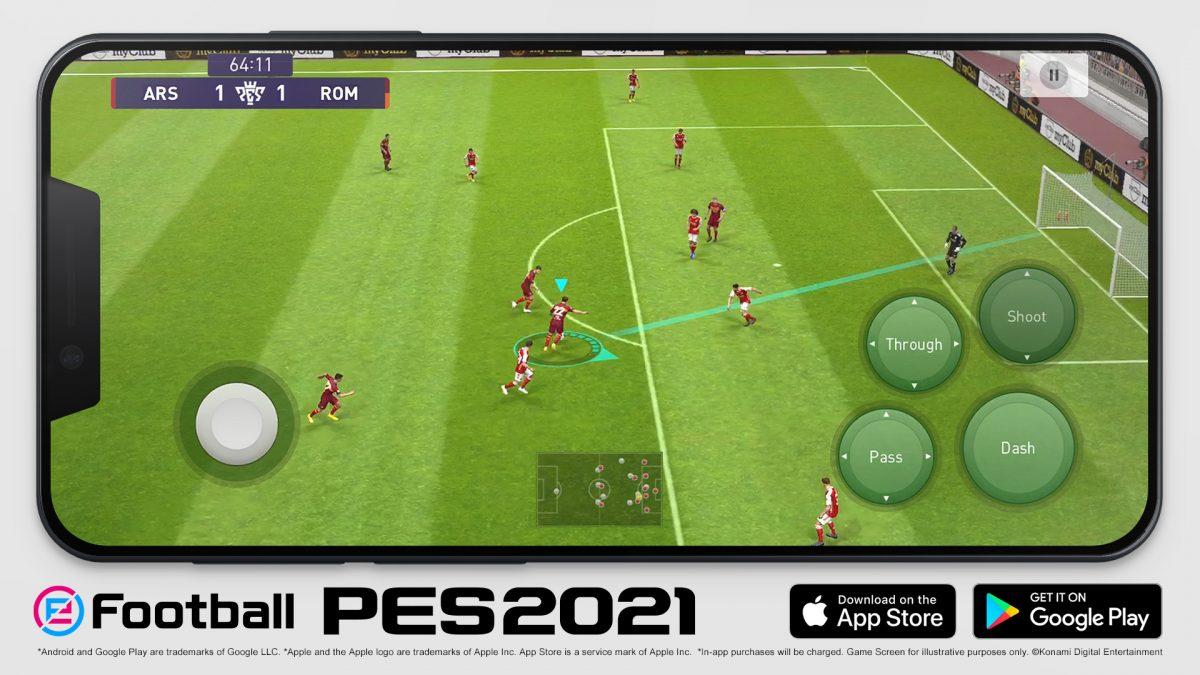 Konami anuncia eFootball PES 2021 Mobile