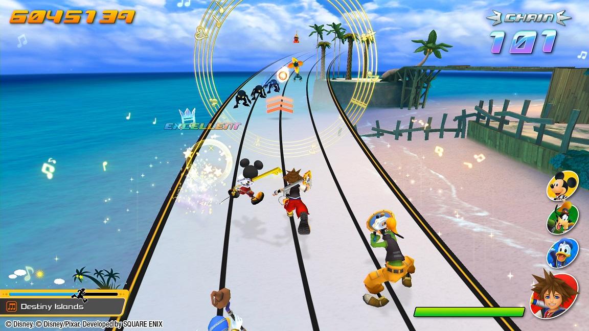 Ritmo y combate con el nuevo Kingdom Hearts: Melody of Memory
