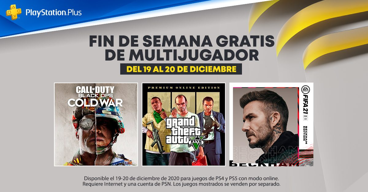 Fin de Semana Gratis de Multijugador Online para todos en PS4™ y PS5™